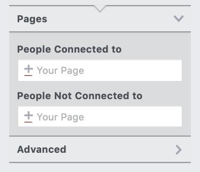"""""""pages"""" option in Facebook"""