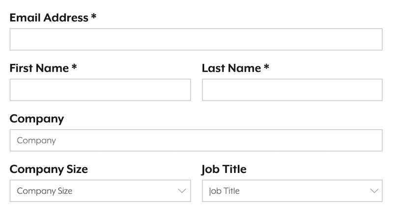 automated email marketing form fill