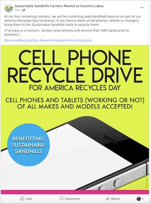november marketing ideas america recycles day