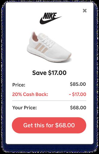 sales promotion examples get cash back