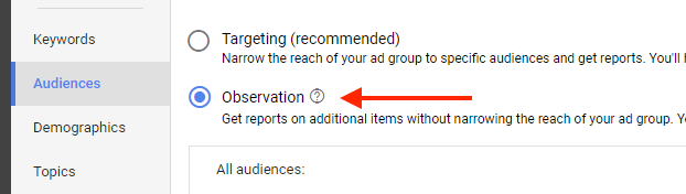 increase bottom of funnel conversions observation mode