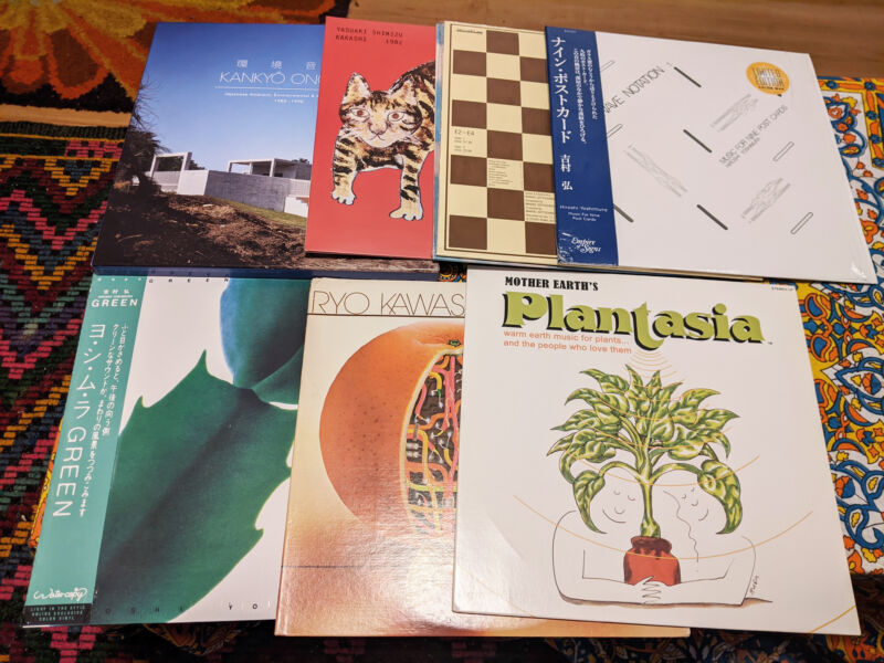 Record collector Mike Porwoll's selection of vinyl records, fueled largely by YouTubecore discoveries.