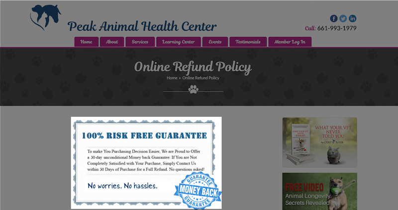 best words and phrases for marketing- risk free guarantee
