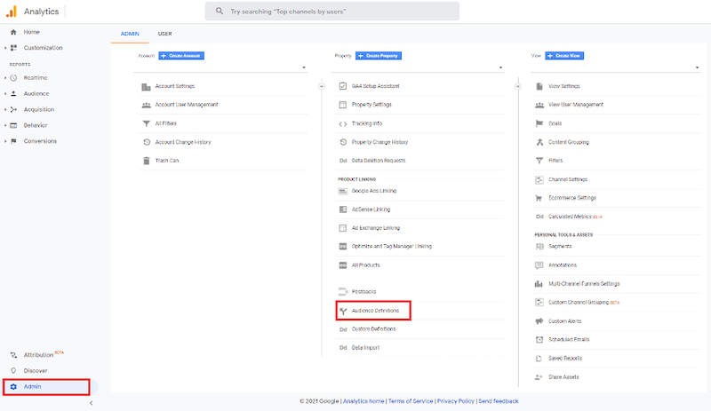 How display advertising can impact search network performance google analytics audiences